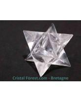 Merkabah  Cristal de roche
