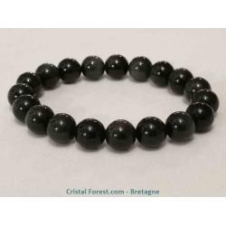 Obsidienne Oeil céleste - Bracelet-boule 10 mm