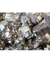 Druse (amas) Pyrite de fer - 823 gr