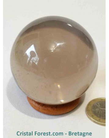Sphère Quartz fumé