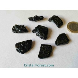 Pierre roulée - Tectite - 2 à 2,6 cm