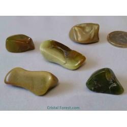 Pierre roulée - Opale verte - 2 à 3,5 cm