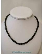 Obsidienne Oeil céleste - Collier Boules 6 et 8 mm