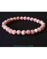Rhodochrosite Extra AAA+ / Bracelets Boules