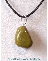 Pendentif d'Opale verte