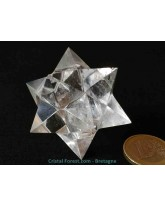 Etoile de Sirius en Cristal de roche - 5,1 cm - Extra
