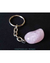 Quartz rose - Portes clefs
