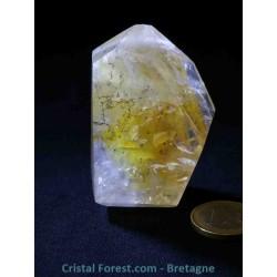 Quartz dendritiques Cristal de roche & Hématoïdes