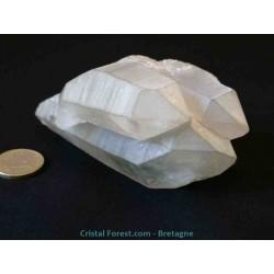 Cristal de roche - Quartz bruts - Bi-terminés