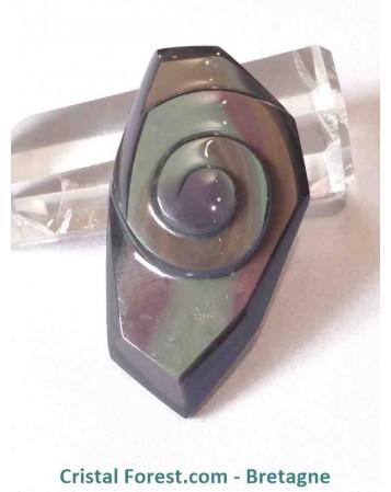 Obsidienne arc-en-ciel (oeil céleste)