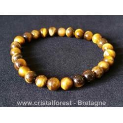 Oeil de tigre - Bracelets boules