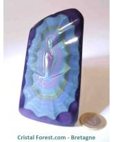 Vierge d'Obsidienne arc-en-ciel (oeil céleste) EXTRA