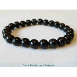Obsidienne Oeil céleste - Bracelet boule 8 mm