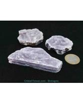 Lépidolite (mica) - Pierres brutes