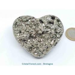 Pyrite de fer - coeurs
