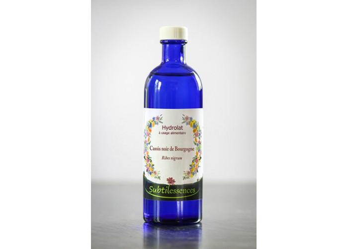 Hydrolat Cassis noir de Bourgogne - Ribes nigrum (eau florale) - Hydrolat Cassis Noir de Bourgogne - 200ML