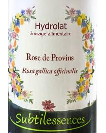 Hydrolat Rose de Provins - Rosa gallica officinalis