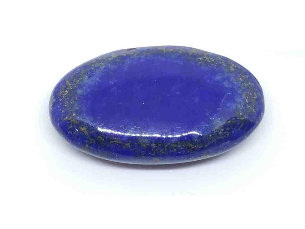 Galet lapis lazuli pour vaincre la timidité.