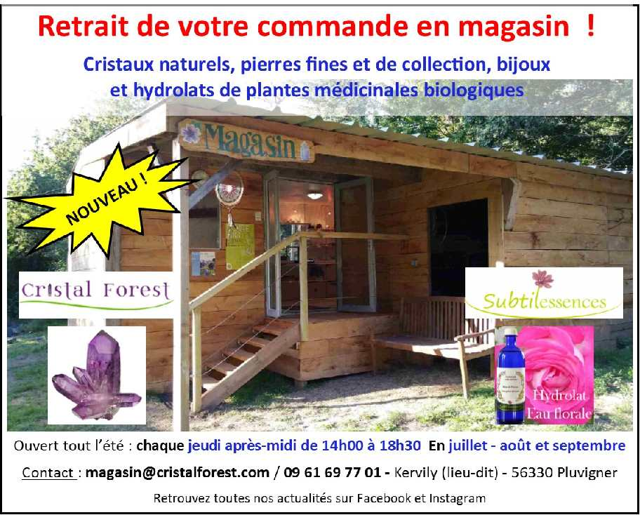 Magasin Cristal Forest